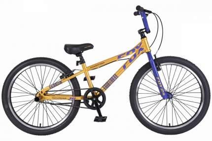 """Велосипед Tech Team Fox 2019 20.3"""" желтый"""