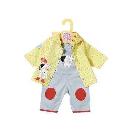 Одежда для куклы Zapf Creation Беби Бон Комбинезон и курточка от дождя, 39-46 см