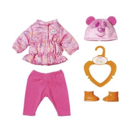 Одежда для куклы Zapf Creation Беби Бон Куртка, штанишки и ботинки, 36 см