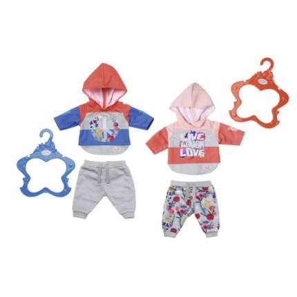 Одежда для куклы Zapf Creation Беби Бон Цветочный костюмчик