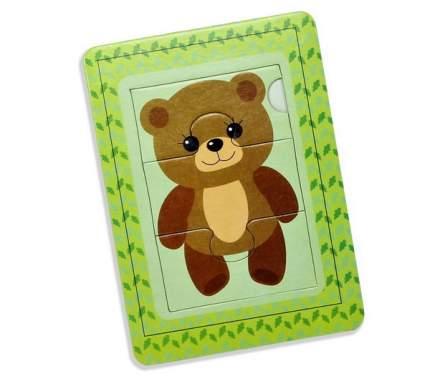 Пазл в рамке Десятое Королевство Медвежонок, 3 элемента