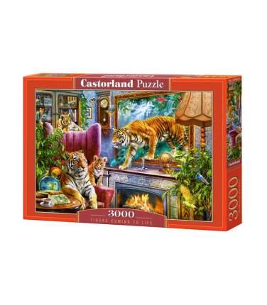 Пазл Castorland Тигры Возвращение в реальность, 3000 элементов