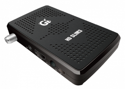 Спутниковый ресивер GI HD Slim 3/32579 Black