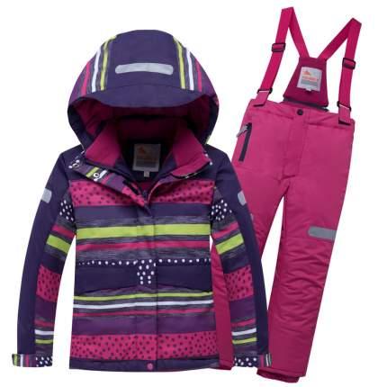 Комплект верхней одежды VALIANLY, цв. фиолетовый р. 110