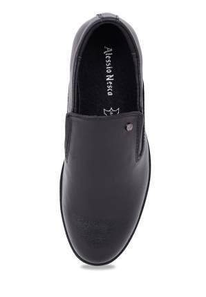 Туфли классические для мальчиков Alessio Nesca, цв. черный, р-р 35
