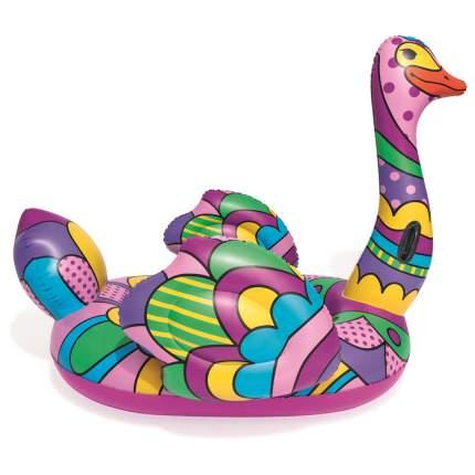 Плот для плавания  BestwayПоп-арт страус, 190 х 166 см