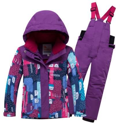 Комплект верхней одежды VALIANLY, цв. фиолетовый р. 92