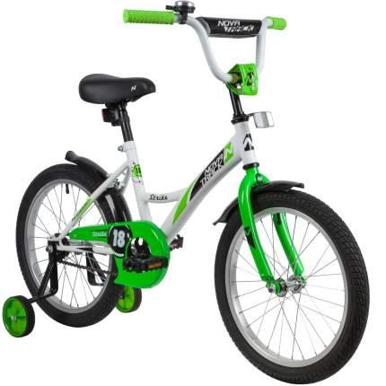 Велосипед Novatrack Strike WTG20 белый-зеленый