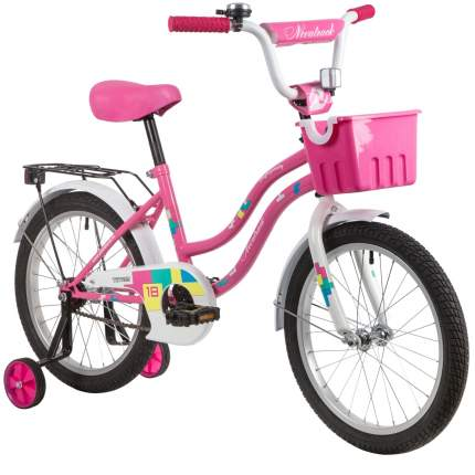 Велосипед Novatrack Tetris.PN20 ножной тормоз, розовый