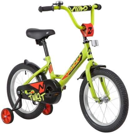 Велосипед Novatrack Twist 161TWIST.GN20 зеленый
