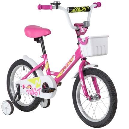 Велосипед Novatrack Twist 161TWIST.PN20 розовый