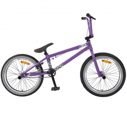 """Велосипед Tech Team Level 2020 2020 20.5"""" фиолетовый"""