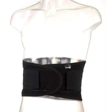 Ортопедический корсет К 608 с упругими пластинами цвет черный
