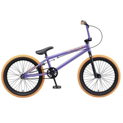 """Велосипед Tech Team BMX Mack 20 2020 21"""" фиолетовый"""