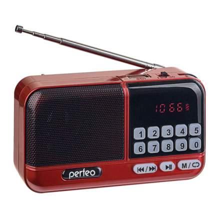Радиоприемник Perfeo ASPEN FM+, красный