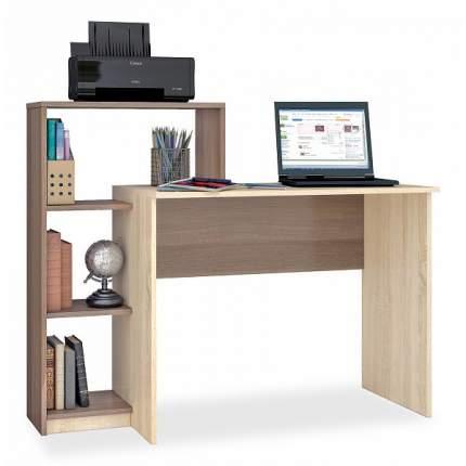 Компьютерный стол Тэкс Квартет-2, дуб сонома
