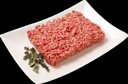 Фарш говяже-свиной Лента Домашний охлажденный -1 кг