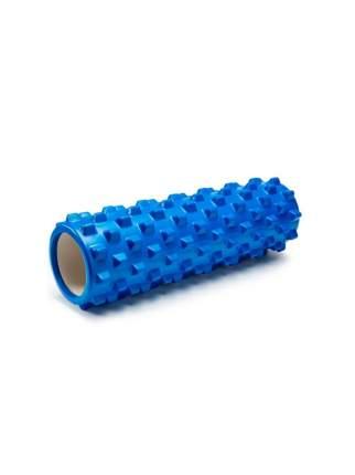 Ролик массажный, большой, шипы 45х15 см, синий