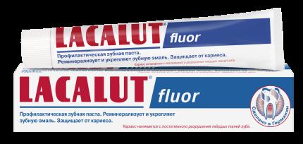 Профилактическая зубная паста LACALUT fluor 75 мл