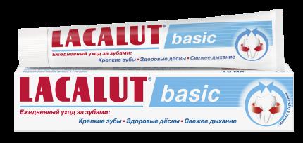 Зубная паста LACALUT basic 75 мл