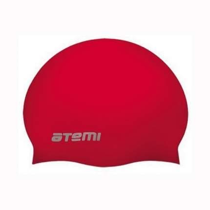 Шапочка для плавания Atemi SC309 красная