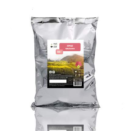 Чайный напиток каркаде Мосчайторг в металлизированной упаковке 500 г
