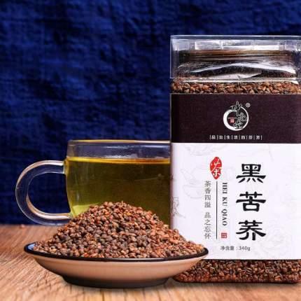 Темный гречишный чай в банке, 340 гр.