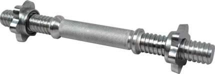 Гриф гантельный Atemi, ARB35, 26х350 мм, металл.замок-гайка