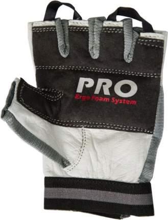 Перчатки для фитнеса Atemi, черно-белые, AFG02 (S)