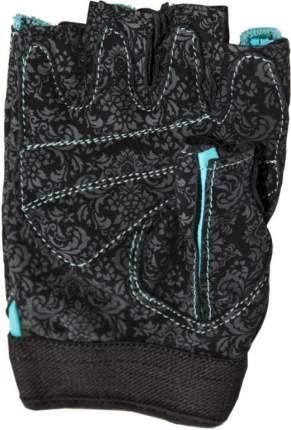Перчатки для фитнеса Atemi, черно-голубые, AFG06BE (XS)
