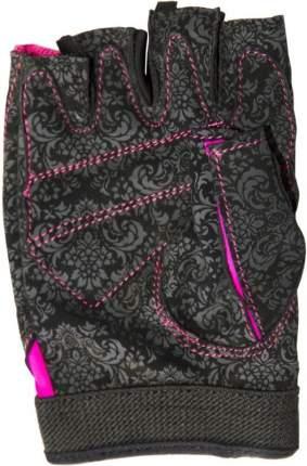 Перчатки для фитнеса Atemi, черно-розовые, AFG06P (S)