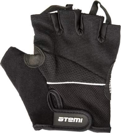 Перчатки для фитнеса Atemi, черные, AFG04 (M)