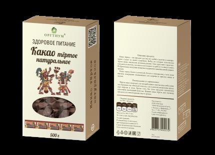 Какао-тертое 500 г