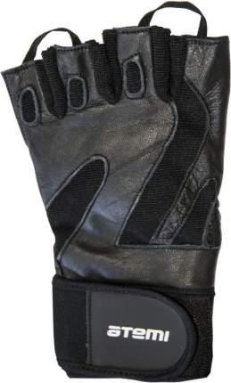 Перчатки для фитнеса Atemi, черные, AFG05 (S)