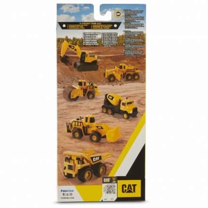 Строительная спецтехника набор 3 шт. металлические 10 см CAT Т19127