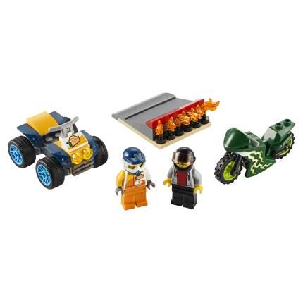 Конструктор LEGO City Nitro Wheels 60255 Команда каскадёров