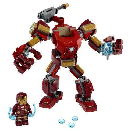 Конструктор LEGO Marvel Avengers Movie 4 76140 Железный Человек: трасформер