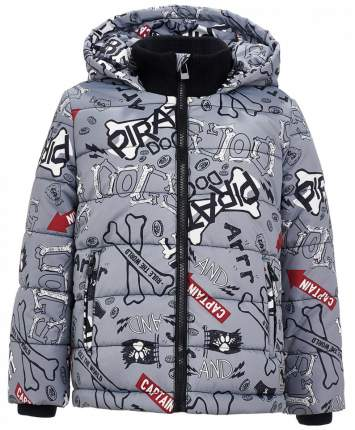 Куртка для мальчиков Button Blue, цв. серый, р.98