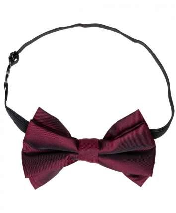 Бордовый галстук-бабочка для мальчиков Button Blue, цв. бордовый
