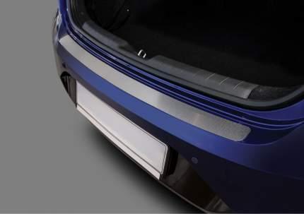 Накладка на задний бампер RIVAL для Hyundai Elantra AD рестайлинг 2019-н.в., NB.2314.1