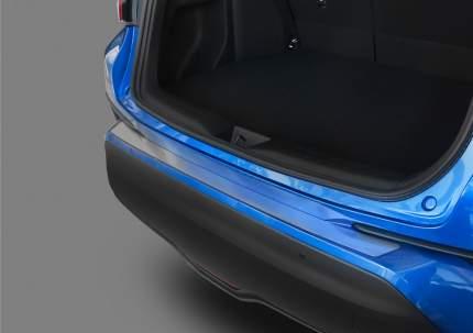 Накладка на задний бампер RIVAL для Toyota C-HR 2018-н.в., нержавеющая сталь, NB.5712.1