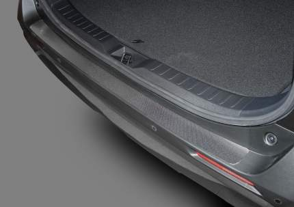 Накладка на задний бампер RIVAL для Toyota RAV 4 XA50 2019-, нержавеющая сталь, NB.5714.1