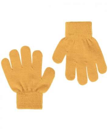 Перчатки для мальчиков Button Blue, цв. горчичный, р.12
