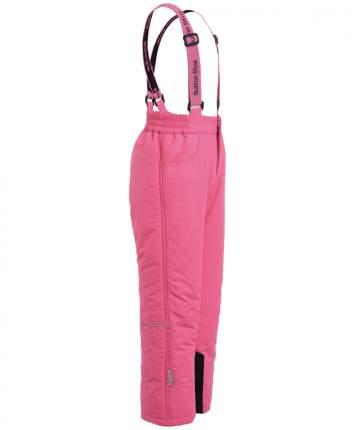 Зимние брюки для девочек Button Blue, цв. розовый, р.98