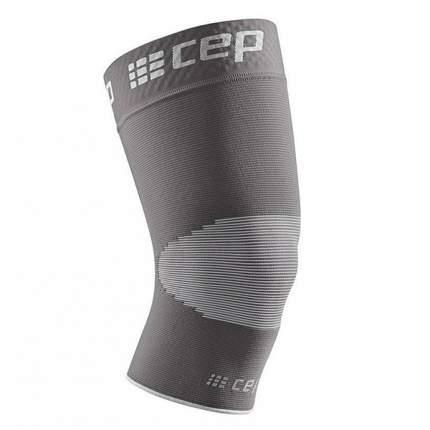 Гетры компрессионные CEP Манжета на колено 87, серые