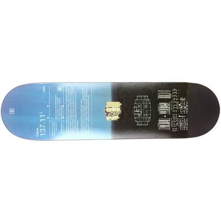 Дека для скейтборда Юнион 137.11.2 31.75 x 8.25 (21 см), мультиколор, One Size