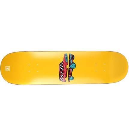 Дека для скейтборда Юнион Тачила 31.75 x 8.125 (20.6 см), желтый, One Size