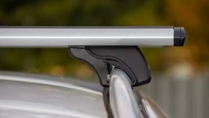 Багажник LUX КЛАССИК дуги аэро-тревел (82мм) 1,2м на Санг Енг Актион с рей-ми  21303-03