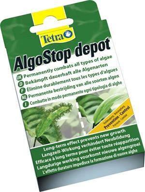Средство для борьбы с водорослями в аквариуме Tetra AlgoStop Depot 12 шт
