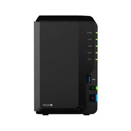 Сетевое хранилище данных Synology DiskStation DS220+ Black